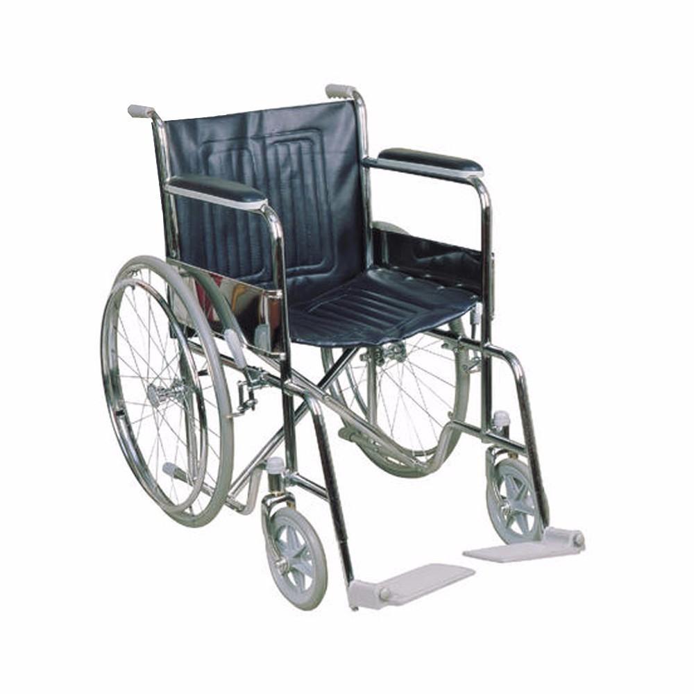 "CMS 1101 / CMR 7003 - 18"" Chrome Standard Wheelchair"