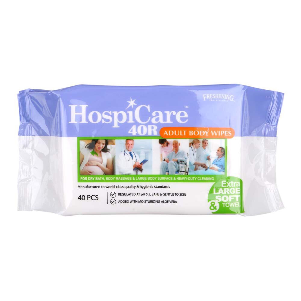 CMS 1143 - Adult Body Wipes (Hospicare 40R)