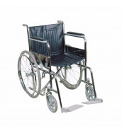 "CMS 1101 / CMR 7003 - 18"" Chrome Standard Wheelchair"