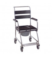 CMS 1006 - Commode Chair Stainless Steel, DAF