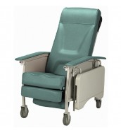 CMS 1024 - Geriatric Chair, Three Position Recliner with Adjustable Armrest