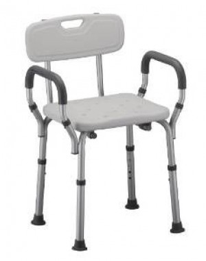 CMS 1010 - Shower Chair Aluminium Deluxe Rotatable Seat